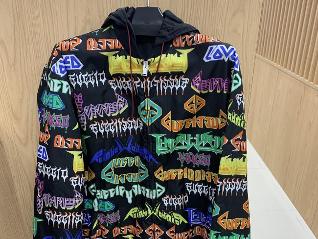 グッチ・総柄・ナイロンジップアップジャケットを買取 東京・新宿区 目白通り店