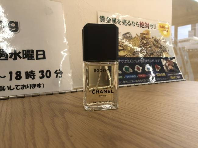 シャネル・エゴイスト・50ml・香水を買取|埼玉|上尾店