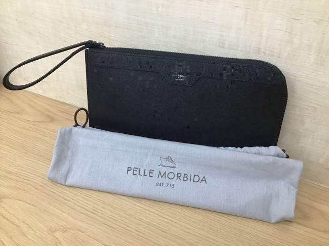PELLEMORBIDA・クラッチバッグを買取 大阪 帝塚山店