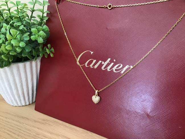 カルティエ・K18ネックレスを買取|大阪|帝塚山店