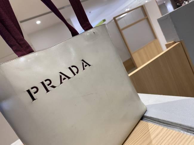 プラダ・レザー・トートバッグを買取|東京・台東区|上野マルイ店