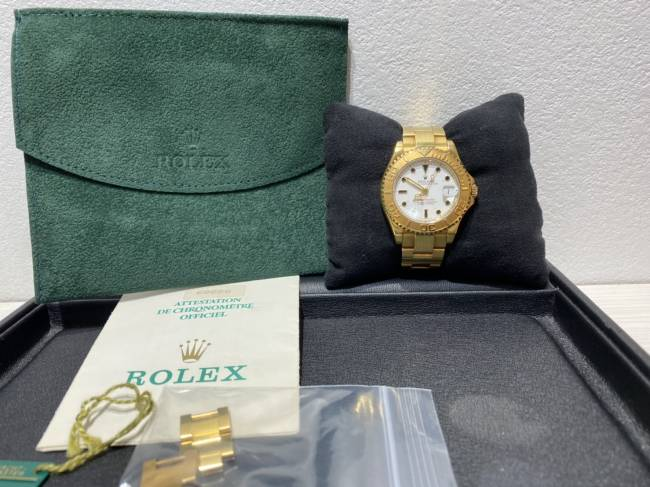 ロレックス・ヨットマスター・K18無垢・68628を買取 東京・墨田区 丸井錦糸町店
