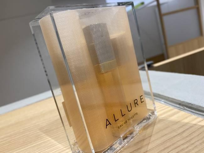 シャネル・アリュール・15ml・香水セットを買取 東京・台東区 上野マルイ店