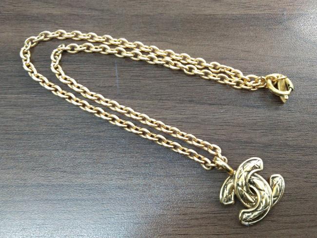 シャネル・ゴールドネックレスを買取|大阪|北巽店