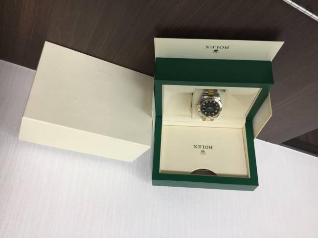ロレックス・デイトジャスト41・126303G を買取|梅田|塚口店