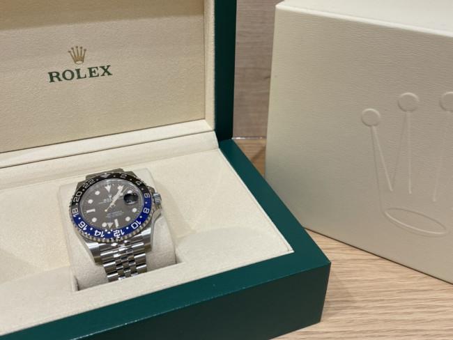 ロレックス・GMTマスタ―Ⅱ・126710BLROを買取|名古屋|ららぽーと名古屋みなとアクルス店