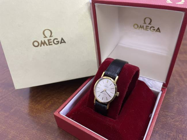 オメガ・アンティーク婦人時計を買取|名古屋|名古屋中村店