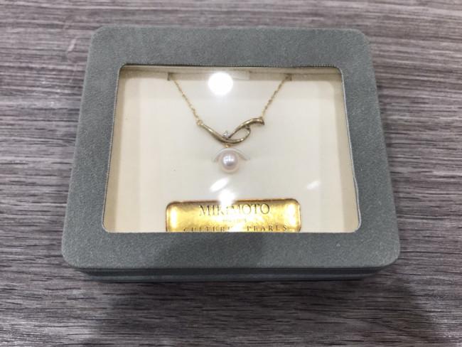 ミキモト・パール1粒ネックレスを買取|東京・目黒区|中目黒店