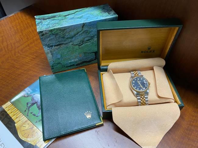 ロレックス・16233G 箱有り・ギャラなしを買取|神戸|兵庫店