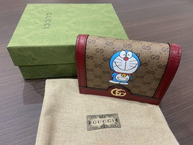 グッチ・ドラえもんコラボコンパクト財布・を買取 福岡 片江店