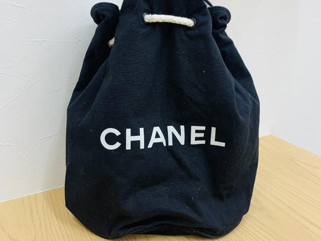 シャネル・ノベルティ・巾着バッグを買取|東京・新宿区|目白通り店