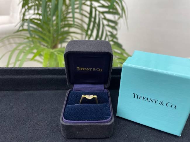 ティファニー・ビーン ダイヤ付 リングを買取|神戸|西宮店