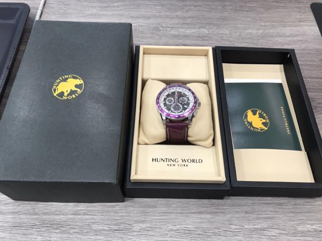 ハンティングワールド・時計・HW-402を買取|東京・目黒区|中目黒店