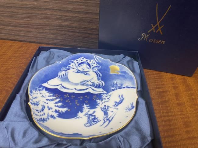 マイセン・メモリアルプレートを買取 広島 広島緑井店