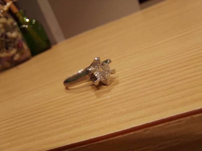 ダイヤモンド・D0.7ct・立爪リングを買取 東京・台東区 上野マルイ店