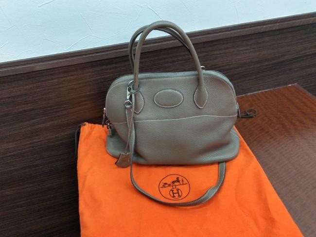 エルメス・ボリード31のハンドバッグを買取|名古屋|名古屋藤が丘店
