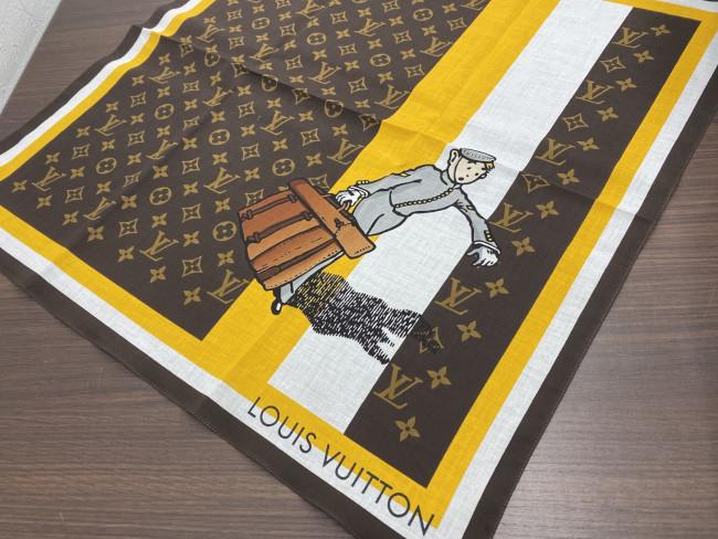 ルイヴィトン・グルーム・スカーフを買取 横浜 横浜青葉台店