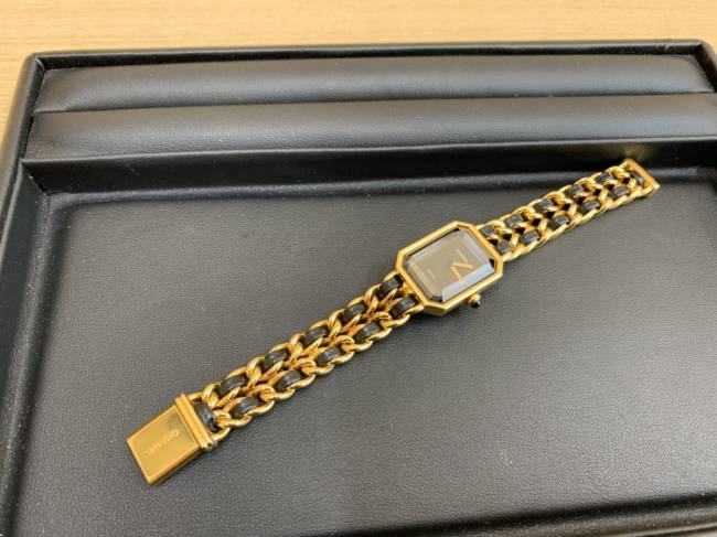 シャネル・プルミエール・時計・Mサイズを買取 京都 河原町丸太町店