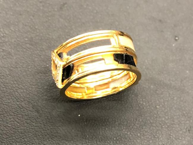 K18・リング・ダイヤリングを買取 難波 天王寺上本町店