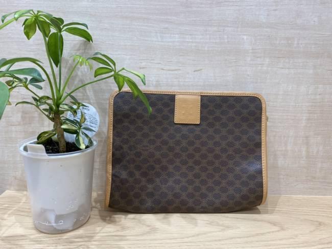 セリーヌ・マカダム・セカンドバッグを買取 堺 ジョルノ堺東店