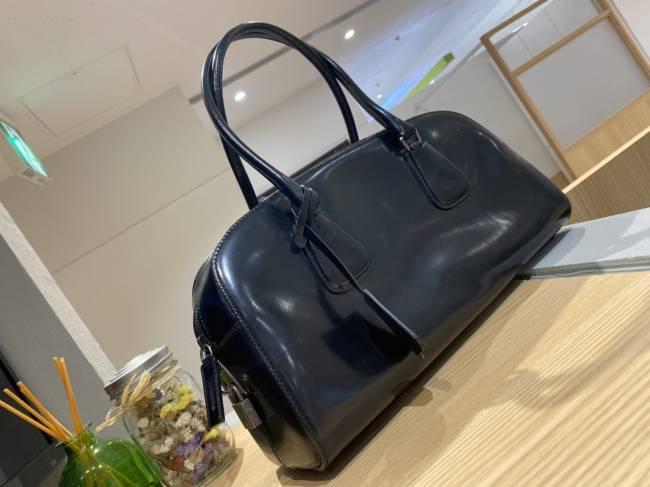 プラダ・レザー・ボストンバッグを買取 東京・台東区 上野マルイ店