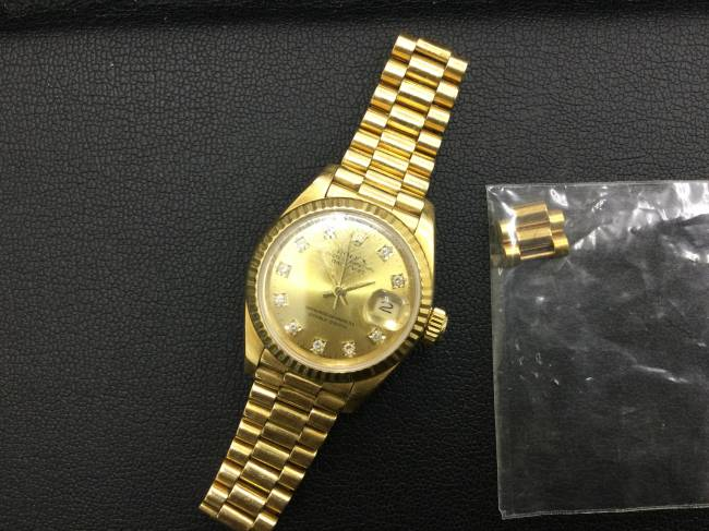 ロレックス・デイトジャスト・時計・69178gを買取|東京|葛西店