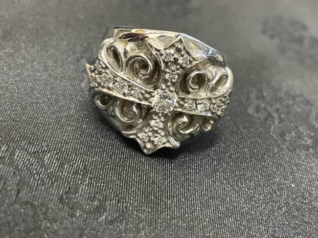 クロムハーツ・キーパー・K18ダイヤリングを買取|東京・渋谷区|渋谷松濤店