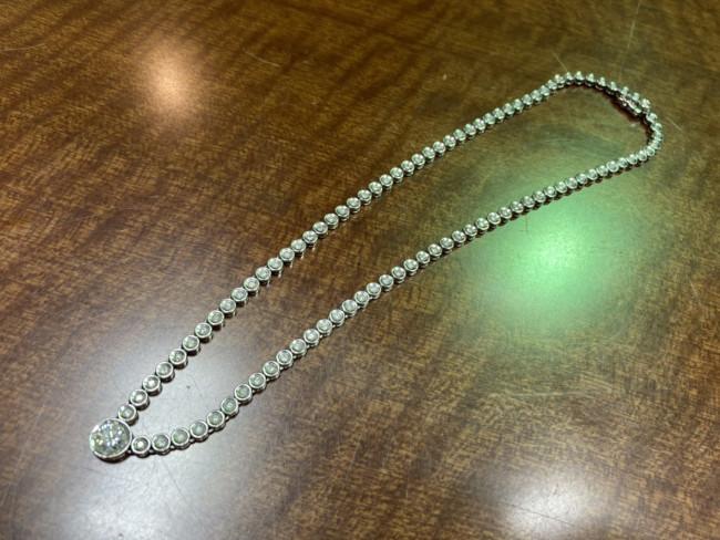 貴金属・ネックレス・ダイヤモンド総2.00Ct・プラチナを買取|横浜|横浜センター南店
