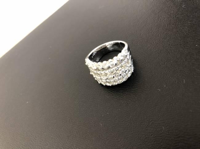 貴金属・PT900・メレダイヤ・デザインリングを買取|京都|京都西院店