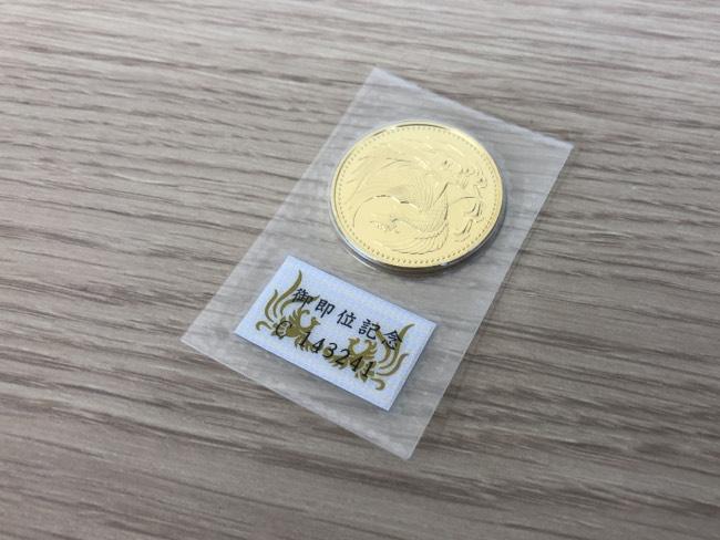 貴金属・K24・平成2年・10万円金貨を買取|京都|京都西院店