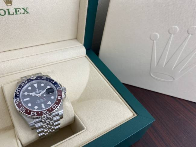 ロレックス・GMTマスターⅡ・126710BLROを買取|広島|広島中央店