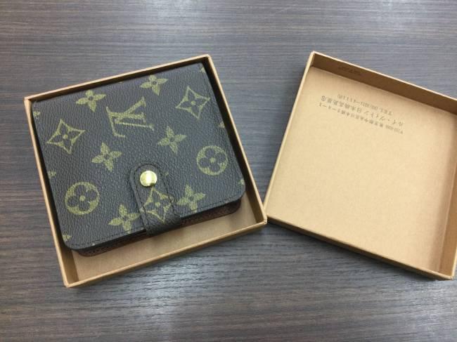 ルイヴィトン・コンパクトジップ・財布・美品を買取|東京|葛西店