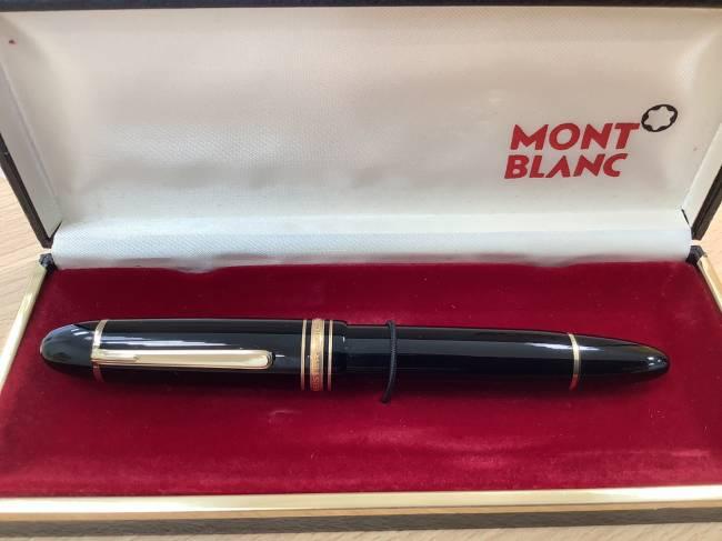 モンブラン・万年筆・K14を買取|奈良|学園前登美ヶ丘店