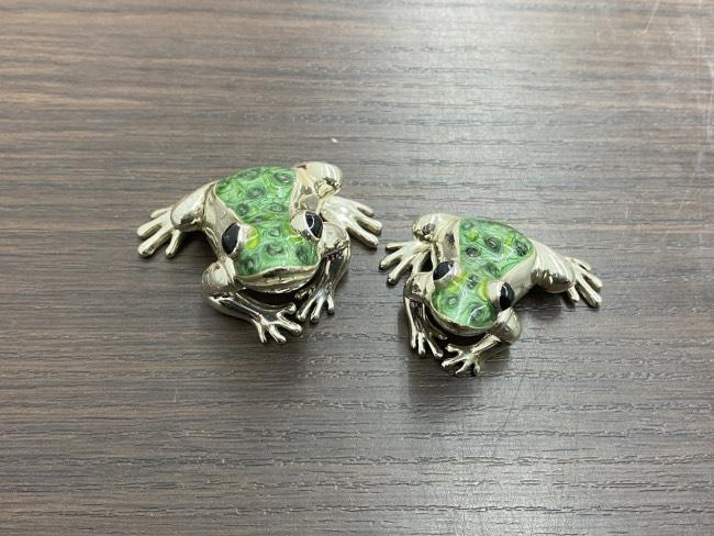 マッピン&ウェッブ・カエル・置物を買取 横浜 横浜青葉台店