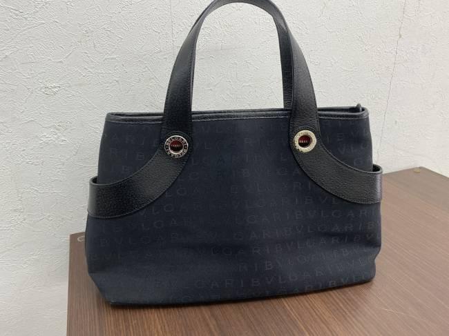 ブルガリ・キャンバスハンドバッグを買取|横浜|横浜青葉台店