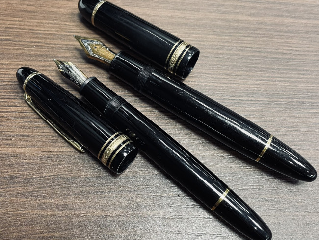 モンブラン・万年筆・ペン先18K・14K・2点を買取|梅田|塚口店