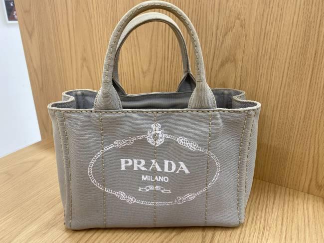 プラダ・カナパSS・デニムトート・2WAYバッグを買取|流山|江戸川台店