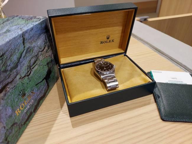 ロレックス・エクスプローラーⅠ・完品・14270を買取 東京・台東区 上野マルイ店