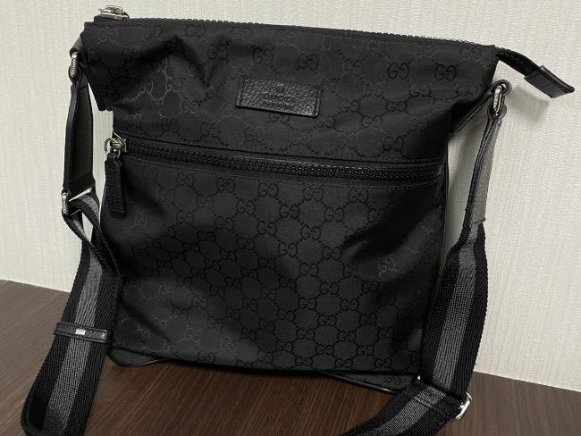 グッチ・GG・ナイロンショルダーバッグ・黒・509639を買取|梅田|塚口店
