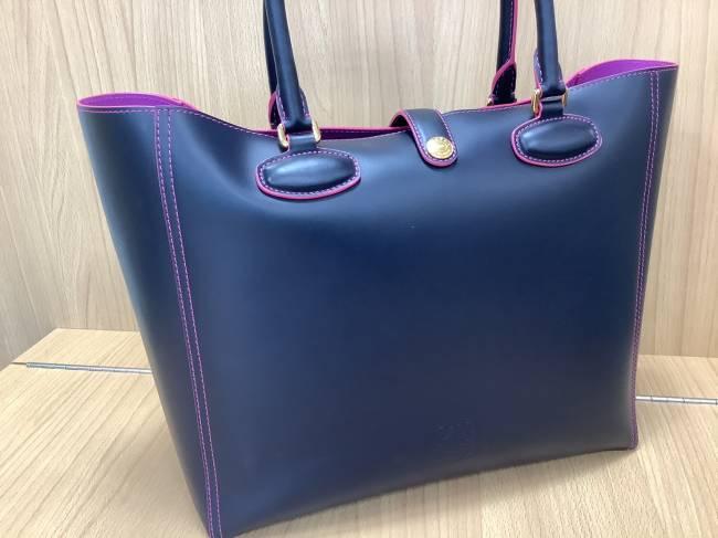 ロエベ・バイカラー・トートバッグを買取|奈良|学園前登美ヶ丘店