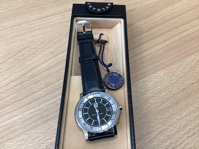 ブルガリ・メンズ時計・ソロテンポ・ST35Sを買取 奈良 学園前登美ヶ丘店