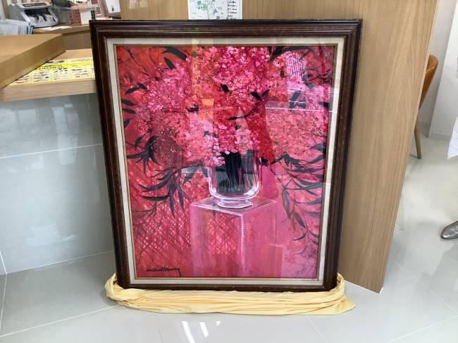ミッシェルアンリ・絵画を買取|奈良|学園前登美ヶ丘店