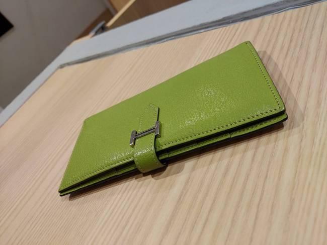 エルメス・ベアン・□I・長財布を買取 東京・台東区 上野マルイ店
