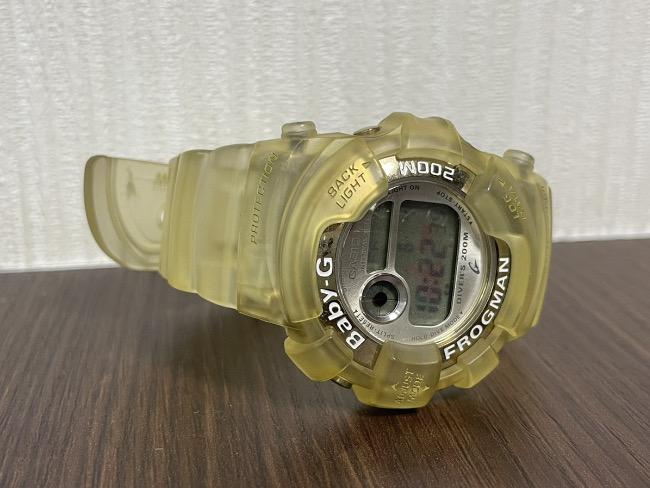 カシオ・baby-G・フロッグマン・腕時計・BGW-100WCを買取|梅田|塚口店