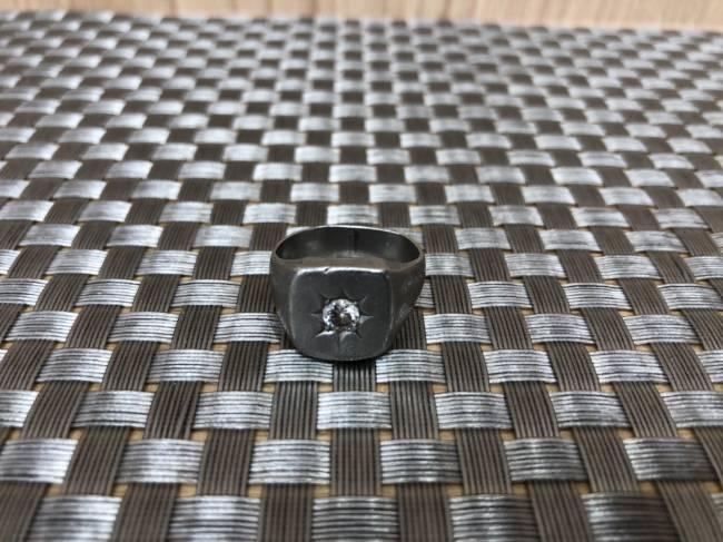 貴金属・ダイヤ・プラチナ印台リングを買取|広島|広島祇園店