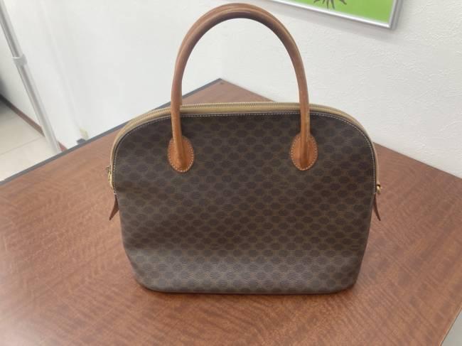 セリーヌ・マカダム・ハンドバッグを買取|広島|広島五日市店