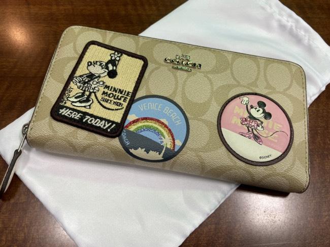 コーチ・ディズニーコラボ・財布を買取 横浜 横浜センター南店