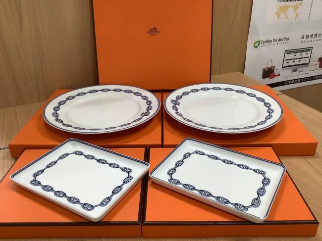 エルメス・シェーヌダンクルプレート皿を買取|奈良|学園前登美ヶ丘店
