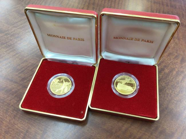アルベールオリンピック金貨2枚・金貨・アルベール・オリンピックを買取|川崎|川崎溝の口店