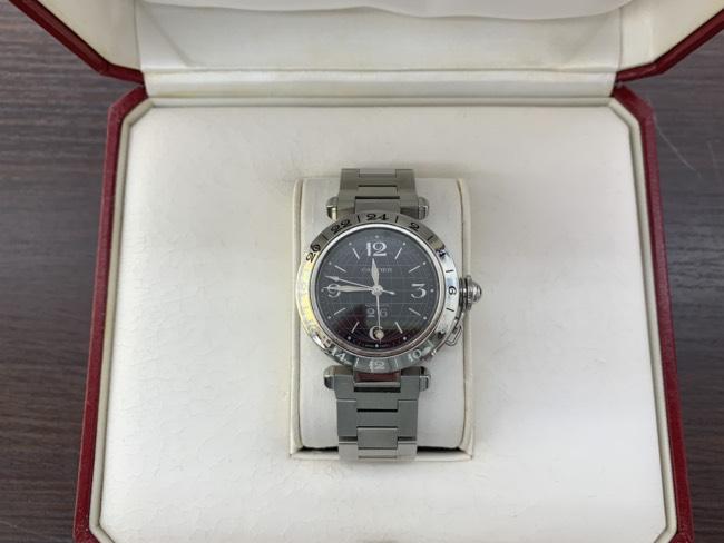 カルティエ・パシャ・GMT・ビックデイト・2550を買取|姫路|加古川店